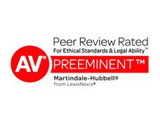 Martindale AV Peer Review Rated