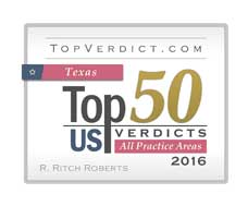 Texas Top 50 Us Verdicts - All Practice Areas 2016